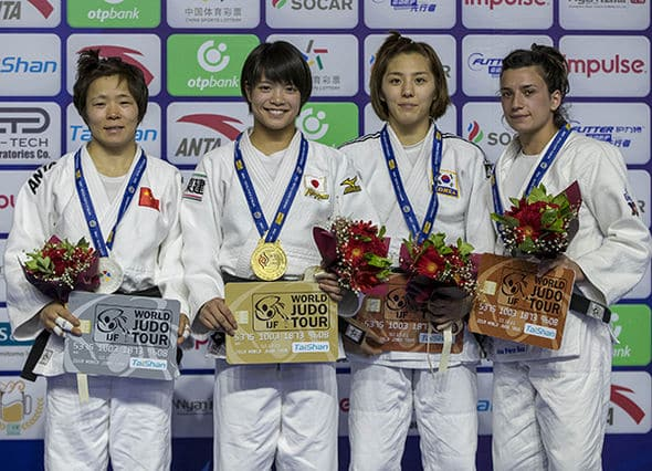 Ana Pérez bronce en Grand Prix de Hohhot