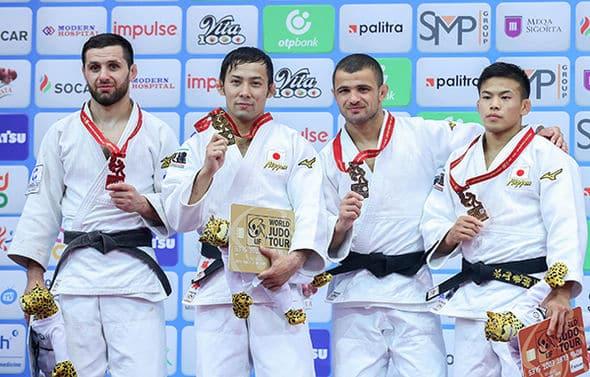 Takato es leyenda con su tercer oro mundial