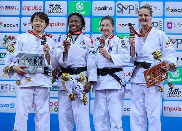 Agbegnenou conquista su tercer oro mundial