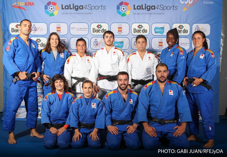 El Judo español viaja al mundial de Bakú con las medallas como objetivo