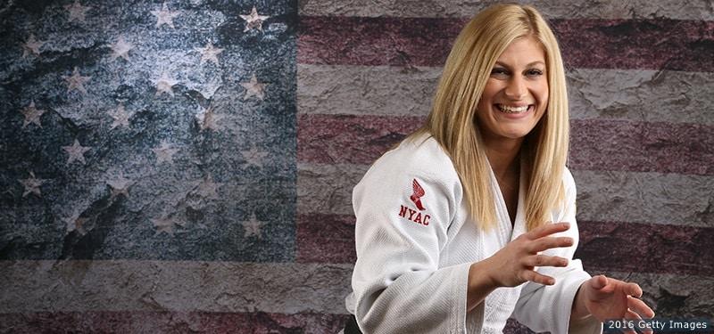 Kayla Harrison la judoka del millón de dólares