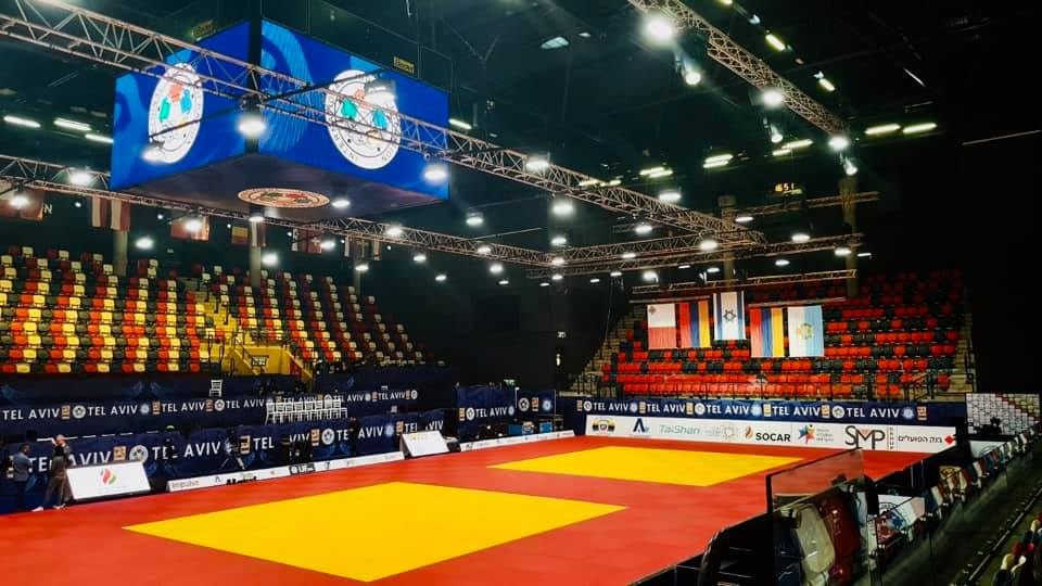 Sorteos de judokas españoles en el Grand Prix de Tel Aviv