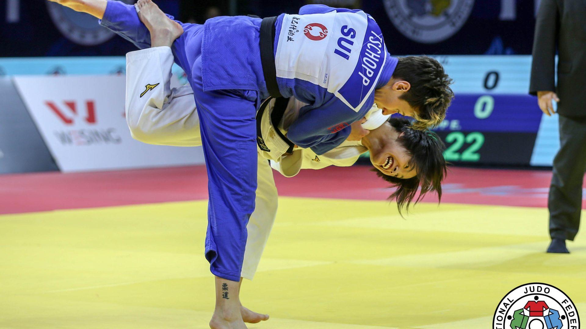 Uta Abe regresa a los tatamis con otro oro