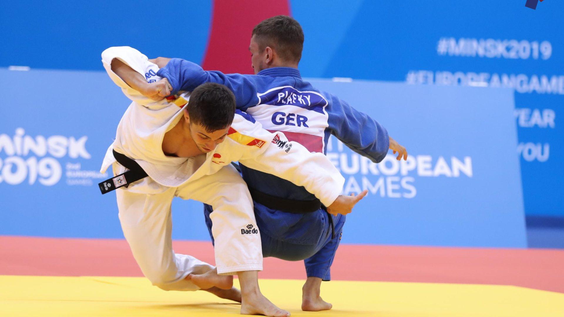 Plata de Garrigós y bronce de Figueroa en jornada inaugural en Minsk