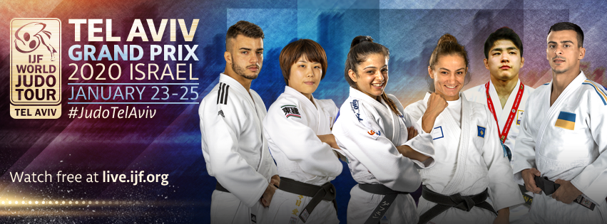 Grand Prix de Tel Aviv primera parada del judo español en 2020