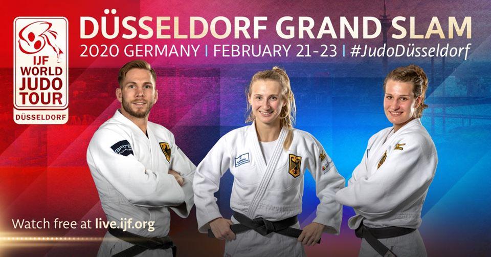 Sorteos de judokas españoles en el Grand Slam de Düsseldorf