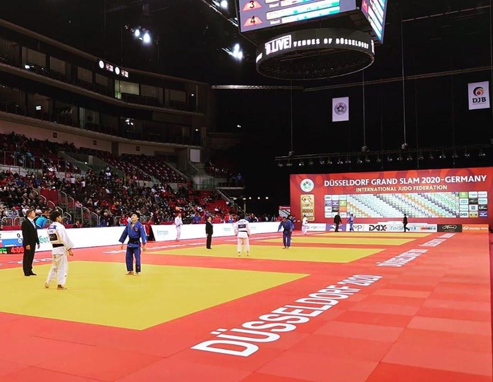 Dos bronces el botín español en jornada inicial de Düsseldorf
