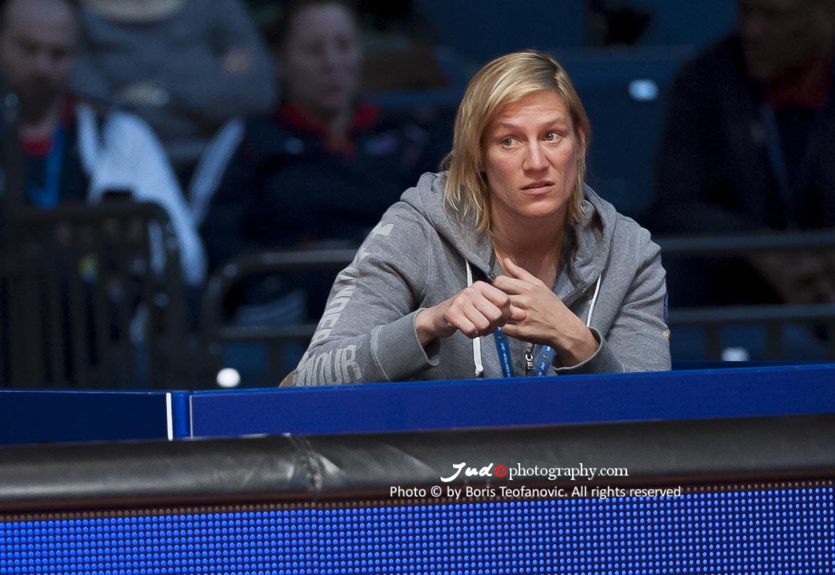 Yvonne Boenisch nueva coach de la Federación de Judo de Austria